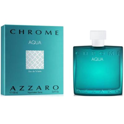 Azzaro Chrome Aqua EDT 100ml for Men Men's Fragrance