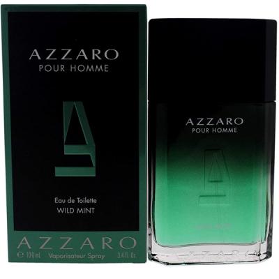 Azzaro Pour Homme Wild Mint EDT 100ml for Men Men's Fragrance