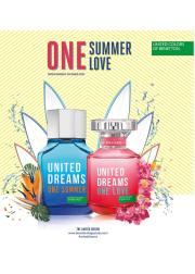 Benetton United Dreams One Love EDT 80ml for Women