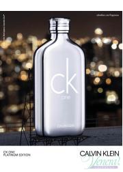 Calvin Klein CK One Platinum Edition EDT 50ml f...
