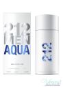 Carolina Herrera 212 Men Aqua EDT 100ml for Men Without Package