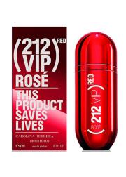 Carolina Herrera 212 VIP Rose Red  EDP 80ml for Women Women's Fragrance