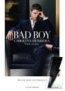 Carolina Herrera Bad Boy Set (EDT 100ml + SG 100ml) for Men Men's Gift sets