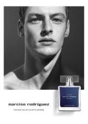 Narciso Rodriguez for Him Bleu Noir Extreme EDT 100ml for Men Men's Fragrance