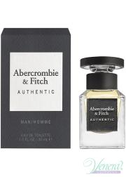 Abercrombie & Fitch Authentic EDT 30ml for Men Men's Fragrance