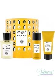 Acqua di Parma Colonia Set (EDC 100ml + SG 75ml + Deo Spray 50ml) for Men and Women Unisex Gift sets