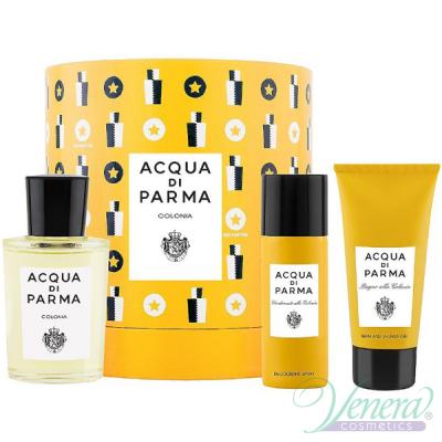 Acqua di Parma Colonia Set (EDC 100ml + SG 75ml + Deo Spray 50ml) for Men and Women