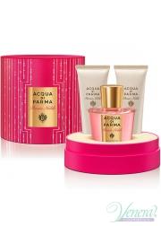 Acqua di Parma Peonia Nobile Set (EDP 100ml + Body Cream 75 + SG 75ml) for Women Women's Gift sets