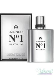 Aigner No1 Platinum EDT 100ml for Men Men's Fragrance