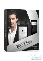 Antonio Banderas The Secret Set (EDT 100ml + AS...