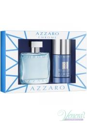 Azzaro Chrome Set (EDT 50ml + Deo Stick 75...