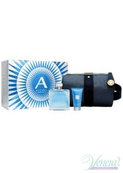 Azzaro Chrome Set (EDT 100ml + SG 50ml + Bag) f...