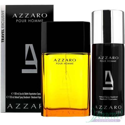Azzaro Pour Homme Set (EDT 50ml + Deo Stick 75ml) for Men Men's Gift sets