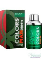 Benetton Colors Man Green EDT 100ml for Men