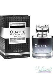 Boucheron Quatre Absolu de Nuit Pour Homme EDP 50ml for Men Men's Fragrances