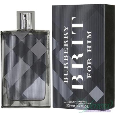 Burberry Brit EDT 200ml for Men Men's Fragrance