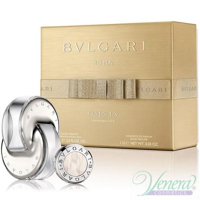 Bvlgari Omnia Crystalline Set (EDT 65ml + Concentre de Parfum 1gr) for Women Women's Gift sets
