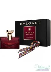 Bvlgari Splendida Magnolia Sensuel Set (EDP 100ml + Silk Headband) for Women Women's Gift sets