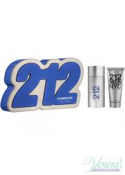Carolina Herrera 212 Set (EDT 100ml + Shower Gel 100ml) for Men Men's Gift sets