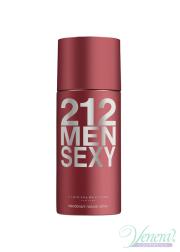 Carolina Herrera 212 Sexy Deo Spray 150ml for Men Men's face and body product's
