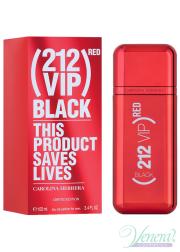 Carolina Herrera 212 VIP Black Red EDP 100ml for Men Men's Fragrance