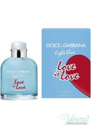 Dolce&Gabbana Light Blue Love Is Love Pour Homme EDT 125ml for Men Men's Fragrance