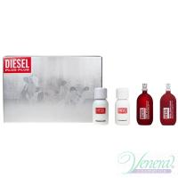 Diesel Deluxe Collection Set (Zero Plus Feminine 30ml + Zero Plus Masculine 30ml + Plus Plus Feminine 30ml + Plus Plus Masculine 30ml) for Men and Women Men's Gift sets