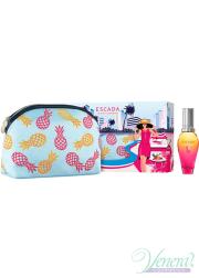 Escada Miami Blossom Set (EDT 30ml + Bag) for Women Women's Gift sets
