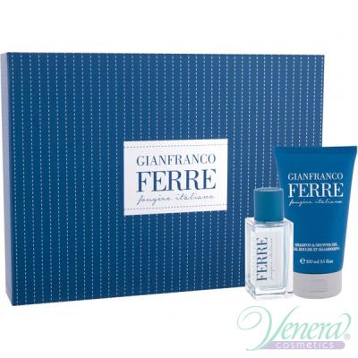 Ferre Fougere Italiano Set (EDT 50ml + SG 100ml) for Men Men's Gift sets