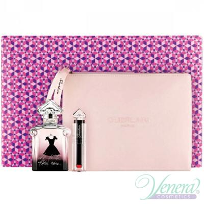 Guerlain La Petite Robe Noire Set (EDP 50ml + Lipstick + Bag) for Women Women's Gift sets