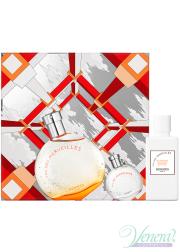 Hermes Eau Des Merveilles Set (EDT 50ml + EDT 7.5ml + BL 40ml) for Women Women's Gift sets