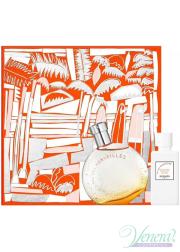 Hermes Eau Des Merveilles Set (EDT 50ml + BL 40ml) for Women Women's Gift sets