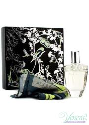 Lalique Fleur De Cristal Set (EDP 100ml + Scarf...