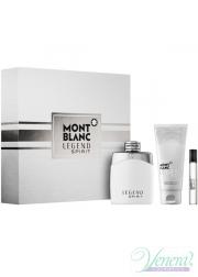 Mont Blanc Legend Spirit Set (EDT 100ml + AS Bl...