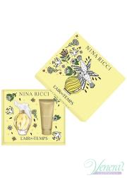 Nina Ricci L'Air du Temps Set (EDT 100ml + BL 100ml) for Women Women's Gift sets