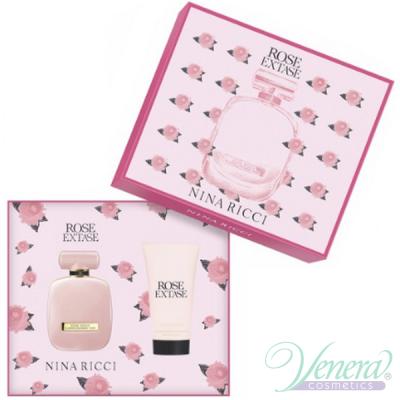 Nina Ricci Rose Extase Set (EDT 50ml + BL 75ml) for Women