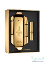Paco Rabanne 1 Million Set (EDT 100ml + EDT 10ml) for Men Men's Gift sets