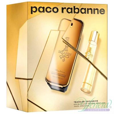 Paco Rabanne 1 Million Set (EDT 100ml + EDT 20ml) for Men Men's Gift sets