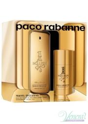 Paco Rabanne 1 Million Set (EDT 100ml + Deo Stick 75ml) for Men Men's Gift sets
