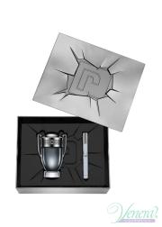 Paco Rabanne Invictus Intense Set (EDT 100ml + EDT 10ml) for Men Men's Gift sets