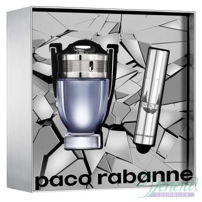 Paco Rabanne Invictus Set (EDT 50ml + EDT 10ml) for Men Men's Gift Sets