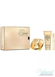 Paco Rabanne Lady Million Set (EDP 80ml + EDP 10ml + BL 100ml) for Women Women's Gift sets