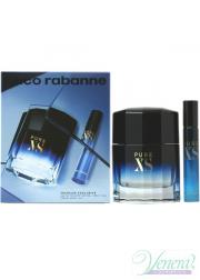 Paco Rabanne Pure XS Set (EDT 100ml + EDT 20ml) for Men Men's Gift sets
