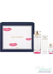 Prada Candy Kiss Set (EDP 80ml + EDP 7ml + BL 75ml) for Women Women's Gift sets