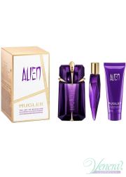 Thierry Mugler Alien Set (EDP 60ml + EDP 10ml + SG 50ml) for Women Women's Gift sets