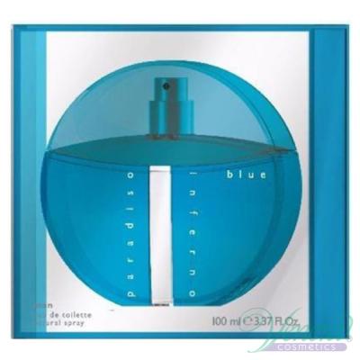 Benetton Paradiso Inferno Blue EDT 100ml for Men Men's Fragrance