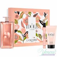 Lancome Idole L'Intense Set (EDP 50ml + EDP 10ml + BL 50ml) for Women Women's Gift sets