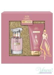 Naomi Campbell Prêt à Porter Silk Collection Set (EDT 15ml + BL 50ml) for Women Women's Gift sets