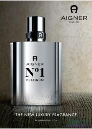 Aigner No1 Platinum EDT 100ml for Men Without P...