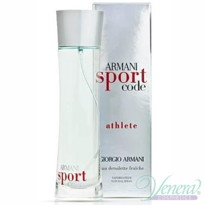 Armani Code Sport Athlete EDT 75ml for Men Men's Fragrance